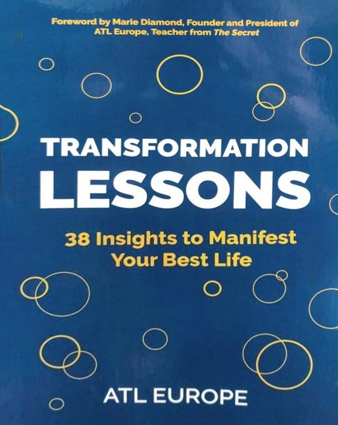 Front cover of Transformation Lessons book